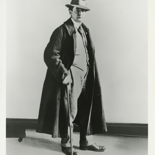Photograph of Sherwood Anderson, c.1922  (Ms1973-002)