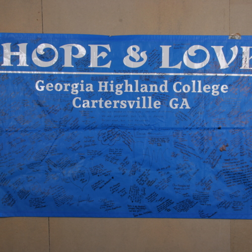 Banner from Georgia Highlands College