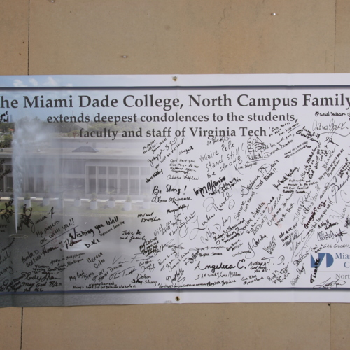 Banner from Miami Dade College