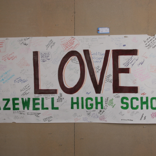 Banner from Tazewell High School