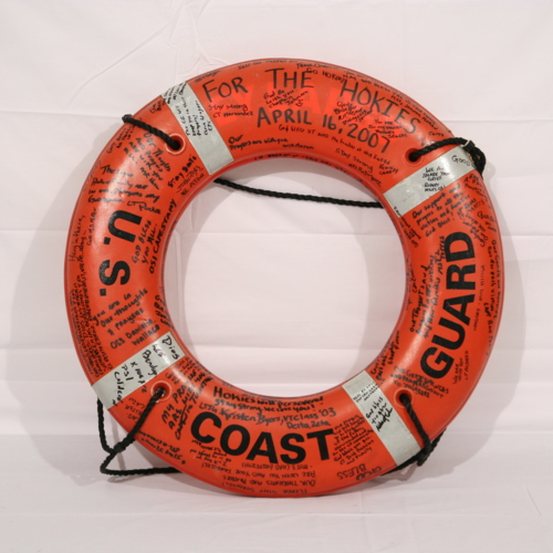 Life preserver from U. S. Coast Guard