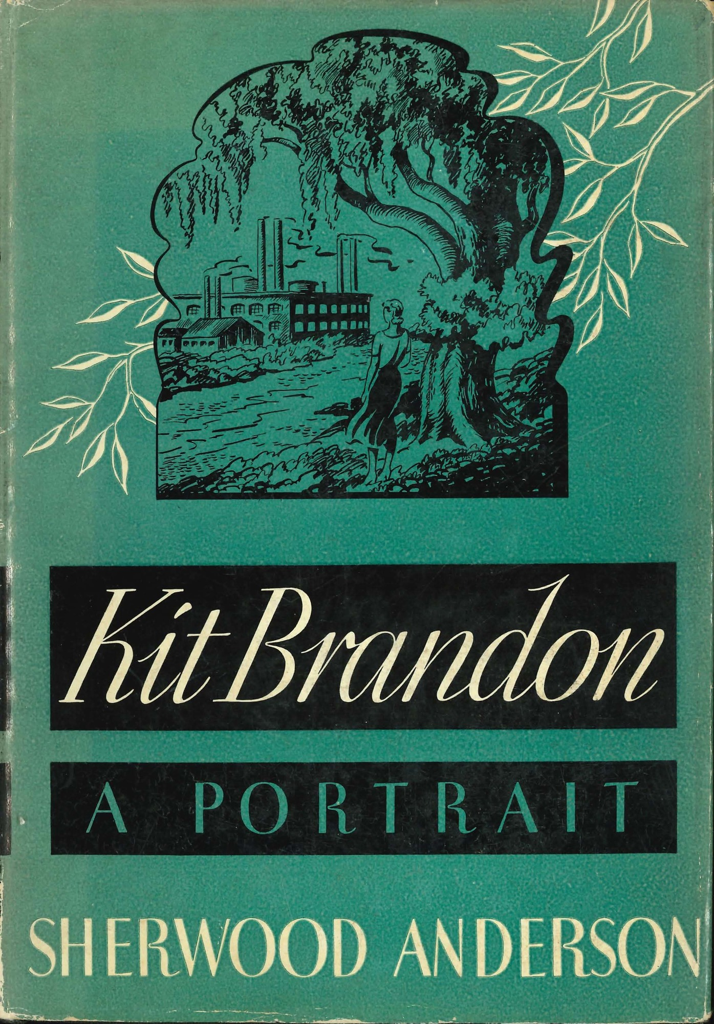 Dust jacket, <i>Kit Brandon: A Portrait</i>, first edition