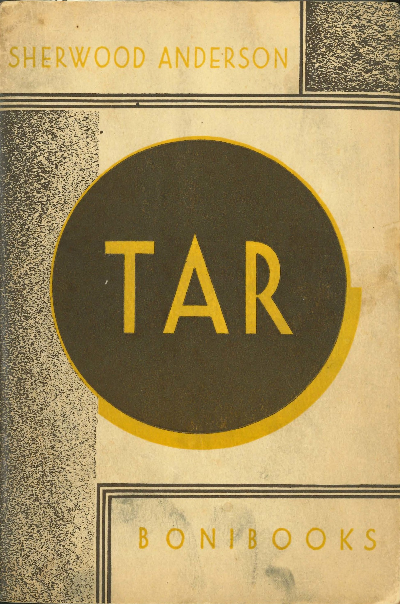 Front cover, <i>Tar: A Midwest Childhood</i>