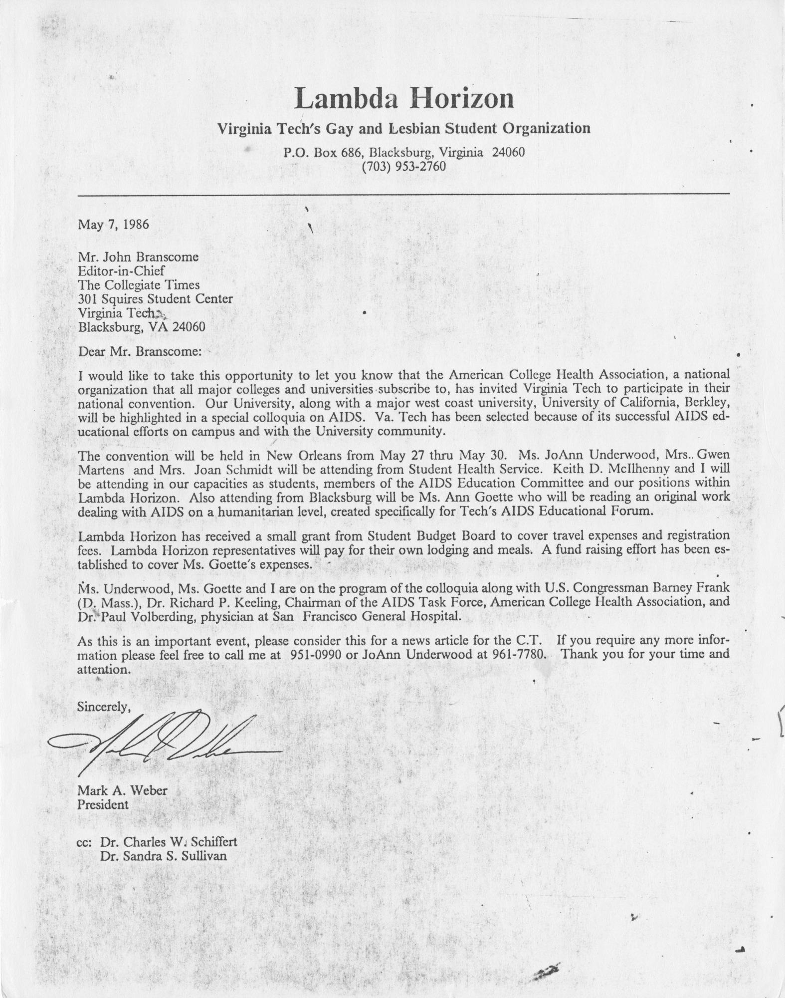 Ms2014-010_WeberMark_CorrespondenceJohnBrancome_1986_0507.jpg