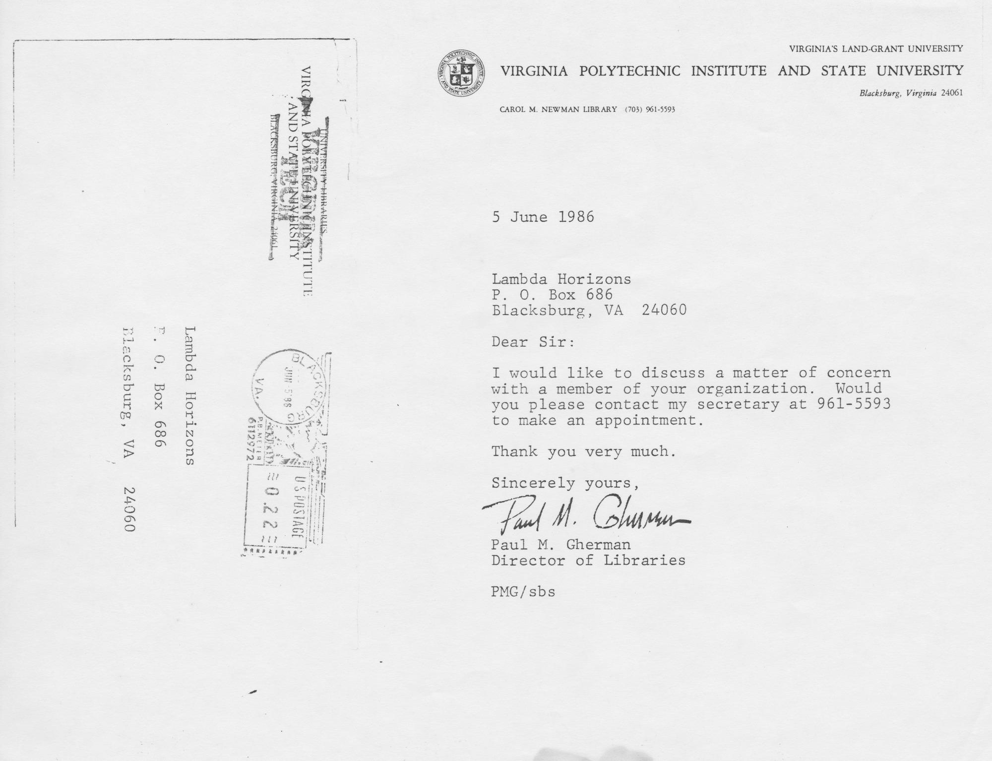 Ms2014-010_WeberMark_CorrespondenceLibraryDirector_1986_0605.jpg