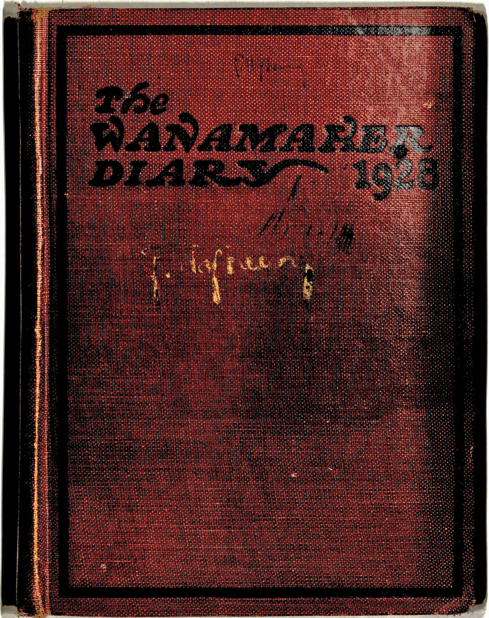 Ms2013-094_Hofheinz_Diary_FrontCover.jpg