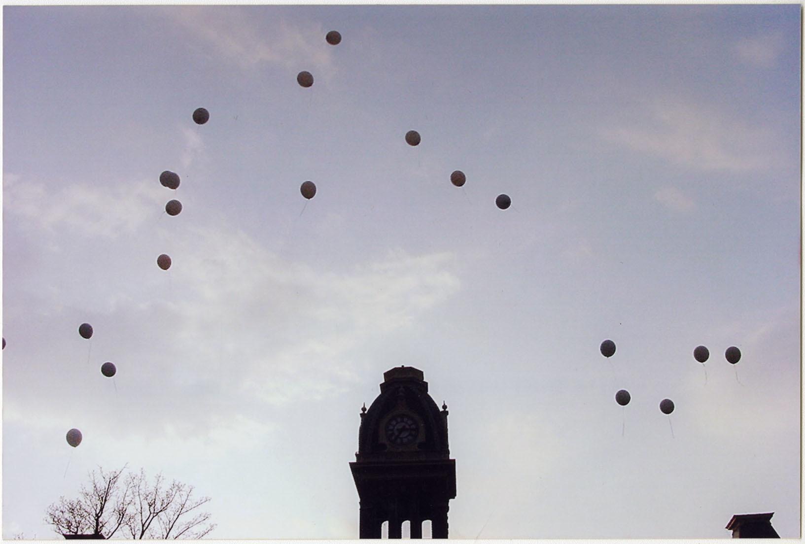 Photograph of Balloons Release, F00048 (Ms2008-020)