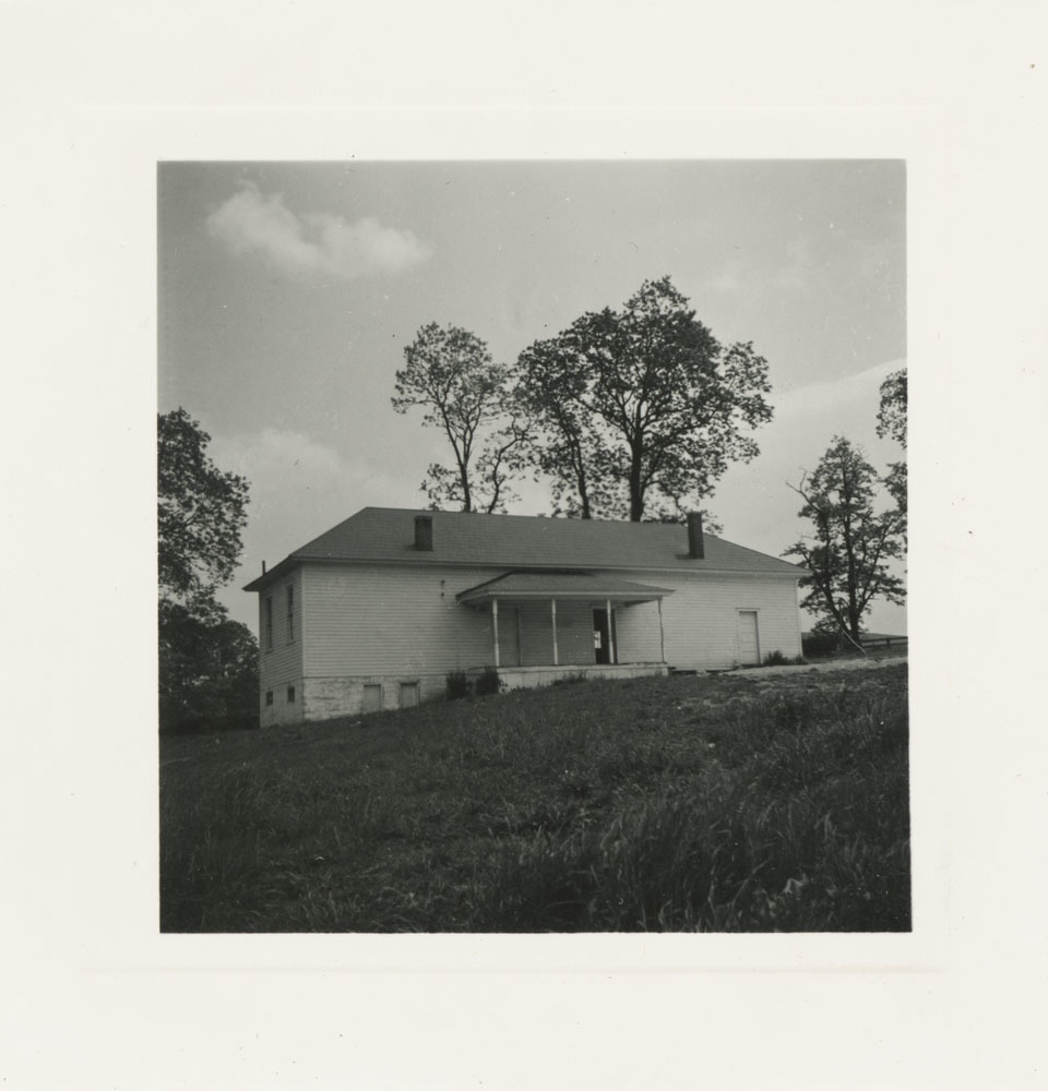 Photograph, School House in New Town