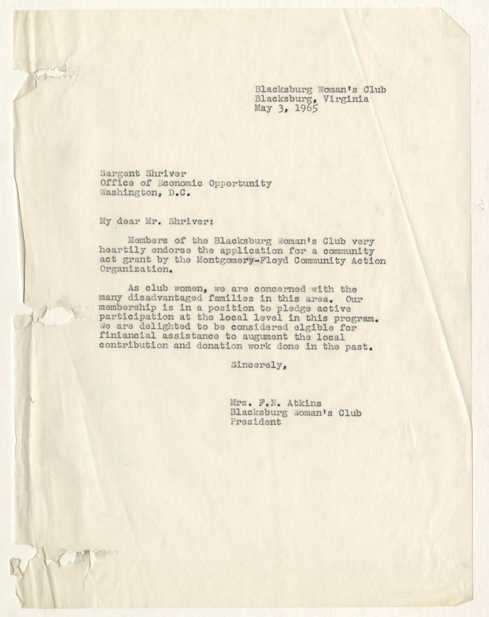 Ms1963-002_BlacksburgWomansClub_B1F1_Correspondence_1965_0505.jpg