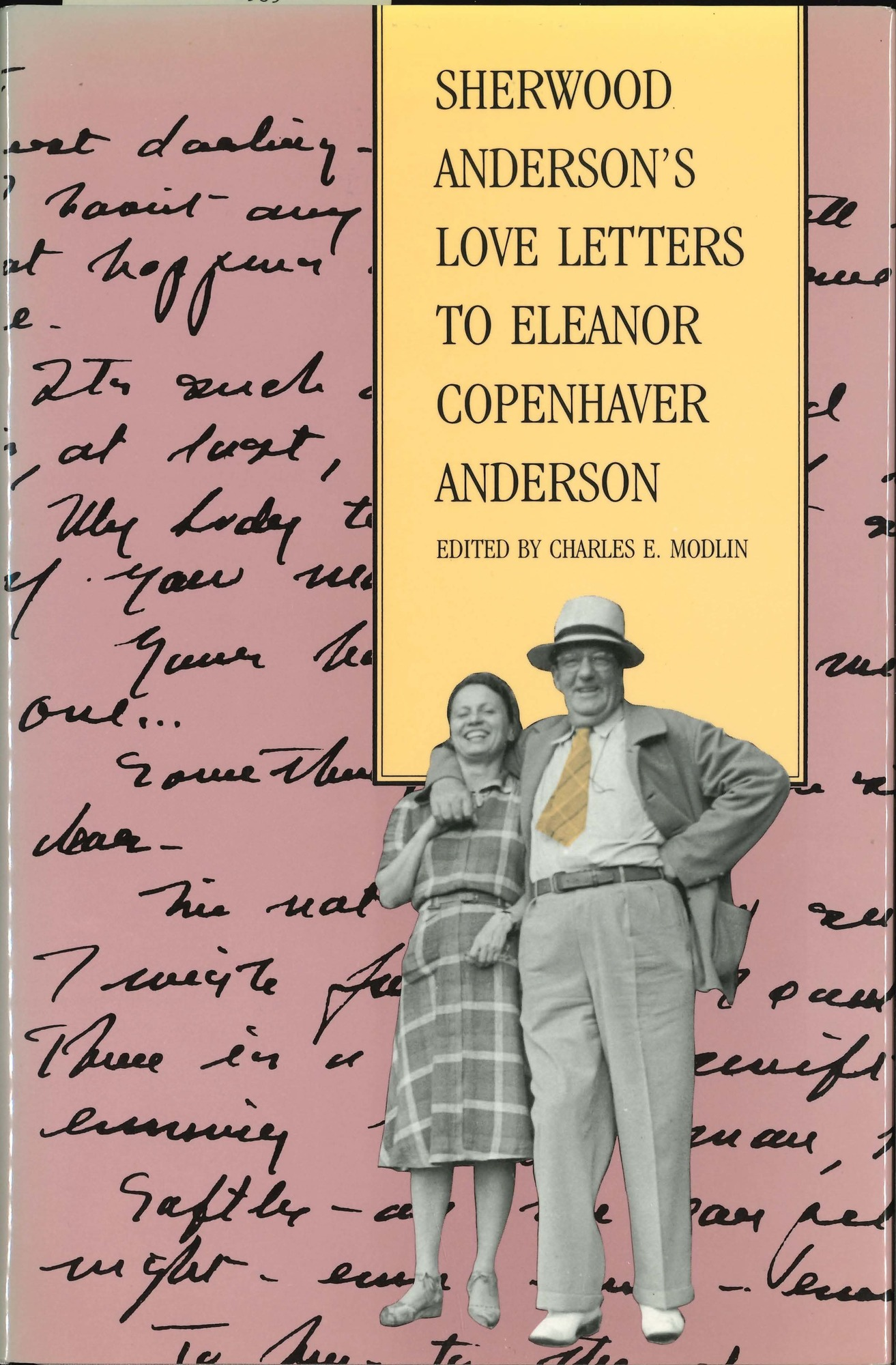 Dust jacket, <i>Sherwood Anderson's Love Letters to Eleanor Copenhaver Anderson</i>
