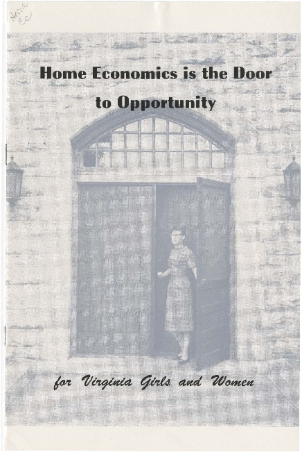 Home Economics is the Door to Opportunity.pdf