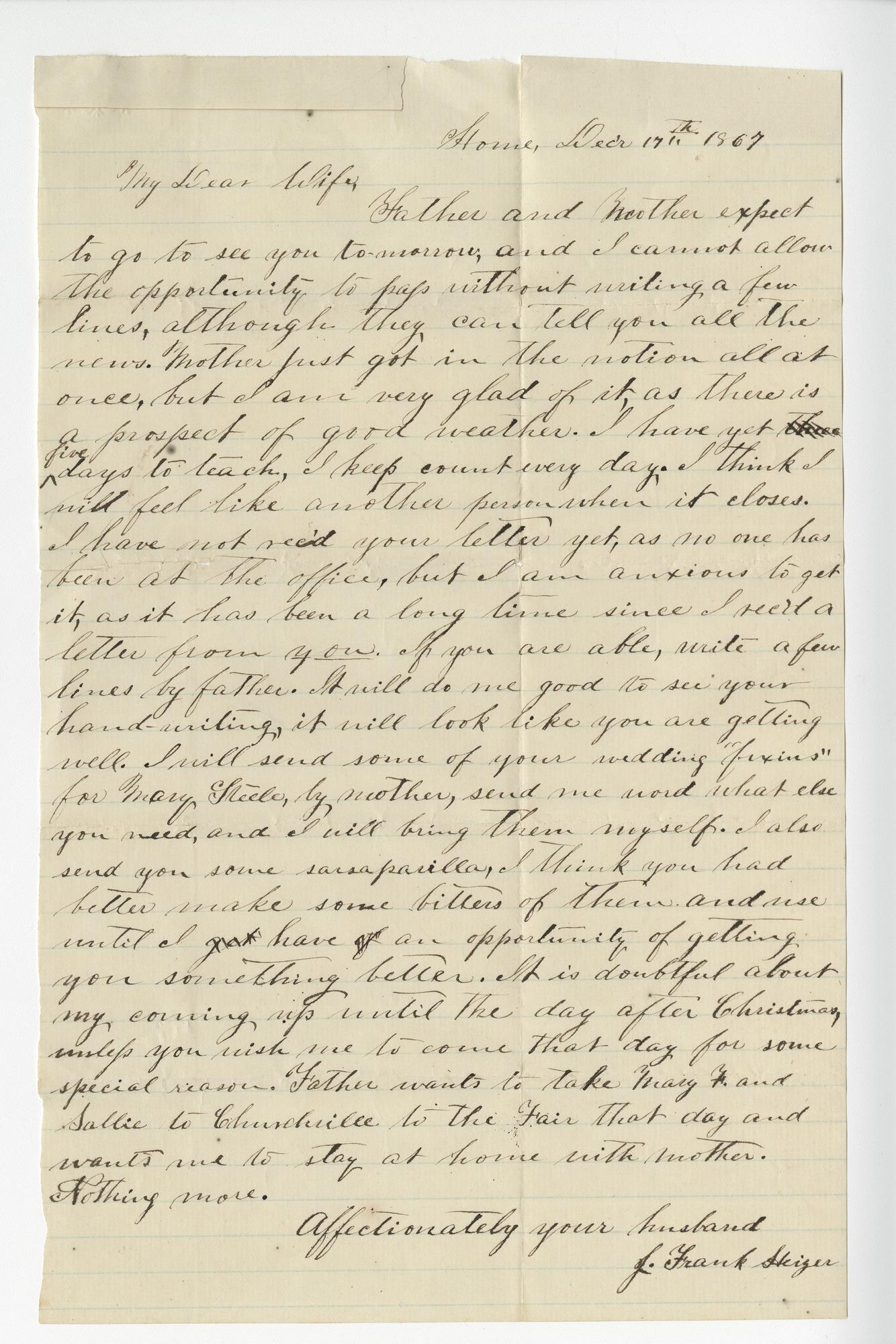 Ms2016-013_HeizerJames_Letter_1867_1217a.jpg
