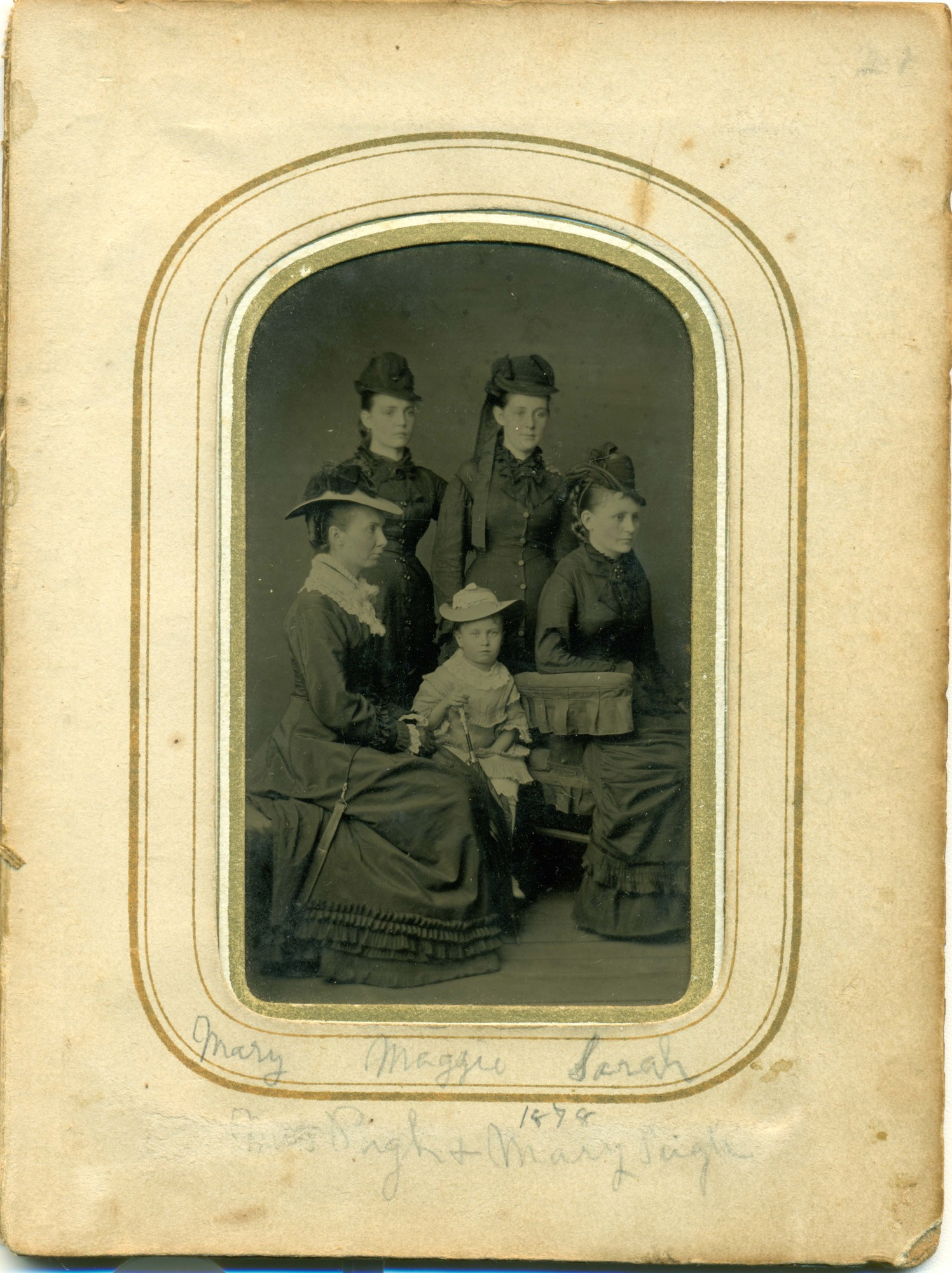 Mary Maggie Sarah [unknown] 1878 FRAMED.jpg