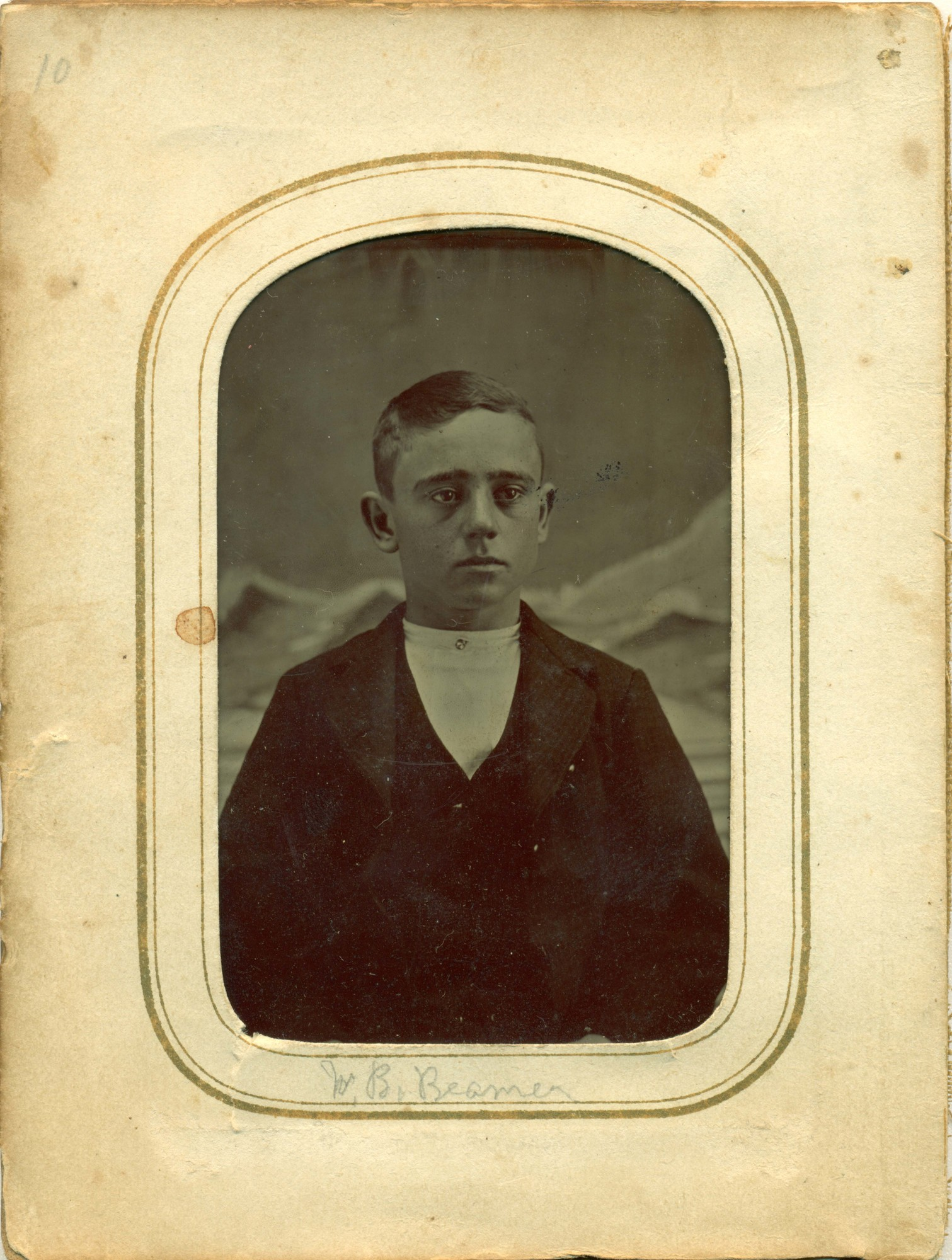 William Benjamin Beamer 1 Framed.jpg