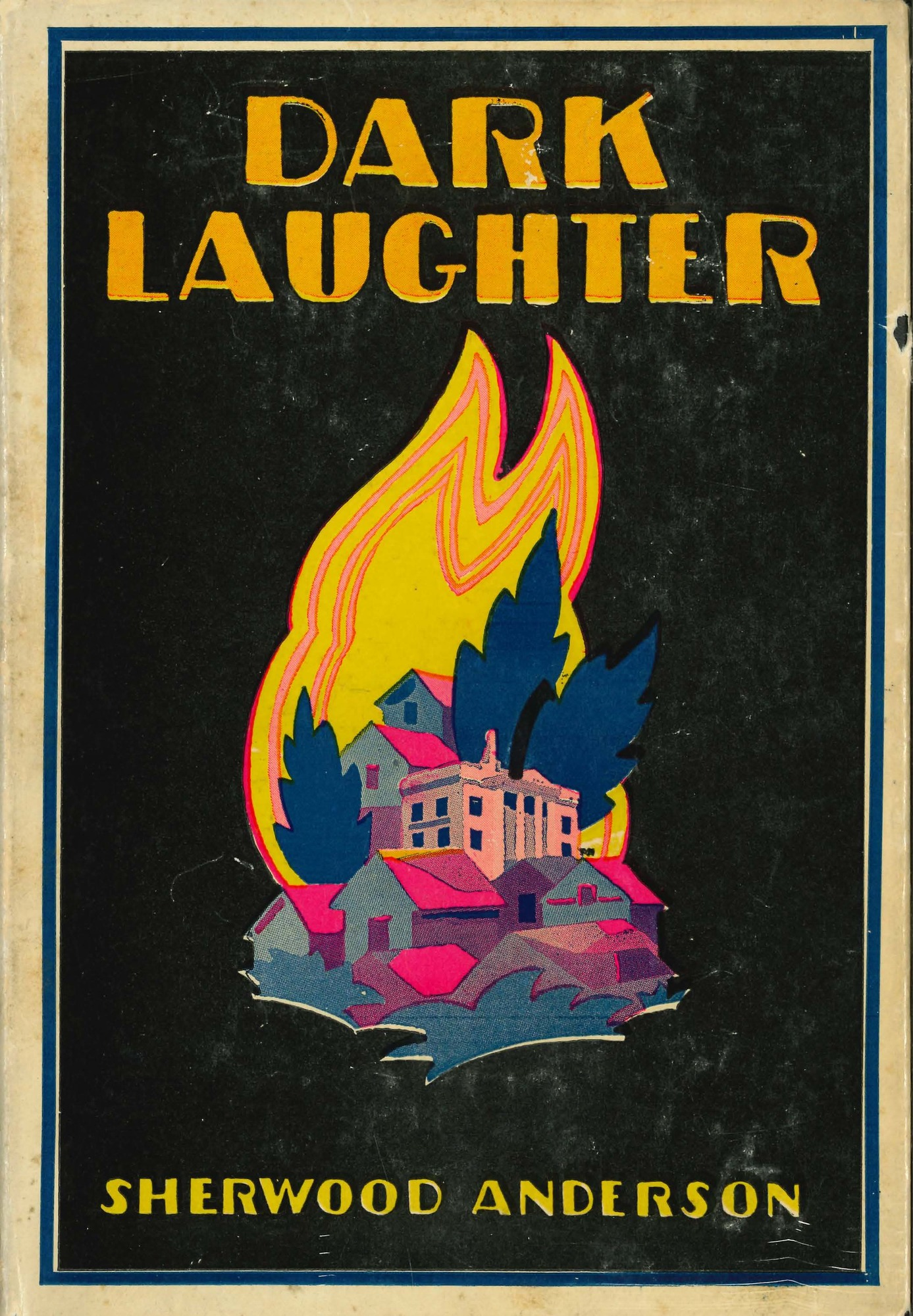 Dust jacket, <i>Dark Laughter</i>, first edition