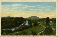 Mountain Scenery Along C & O. RY., Near Lexington, Virginia
