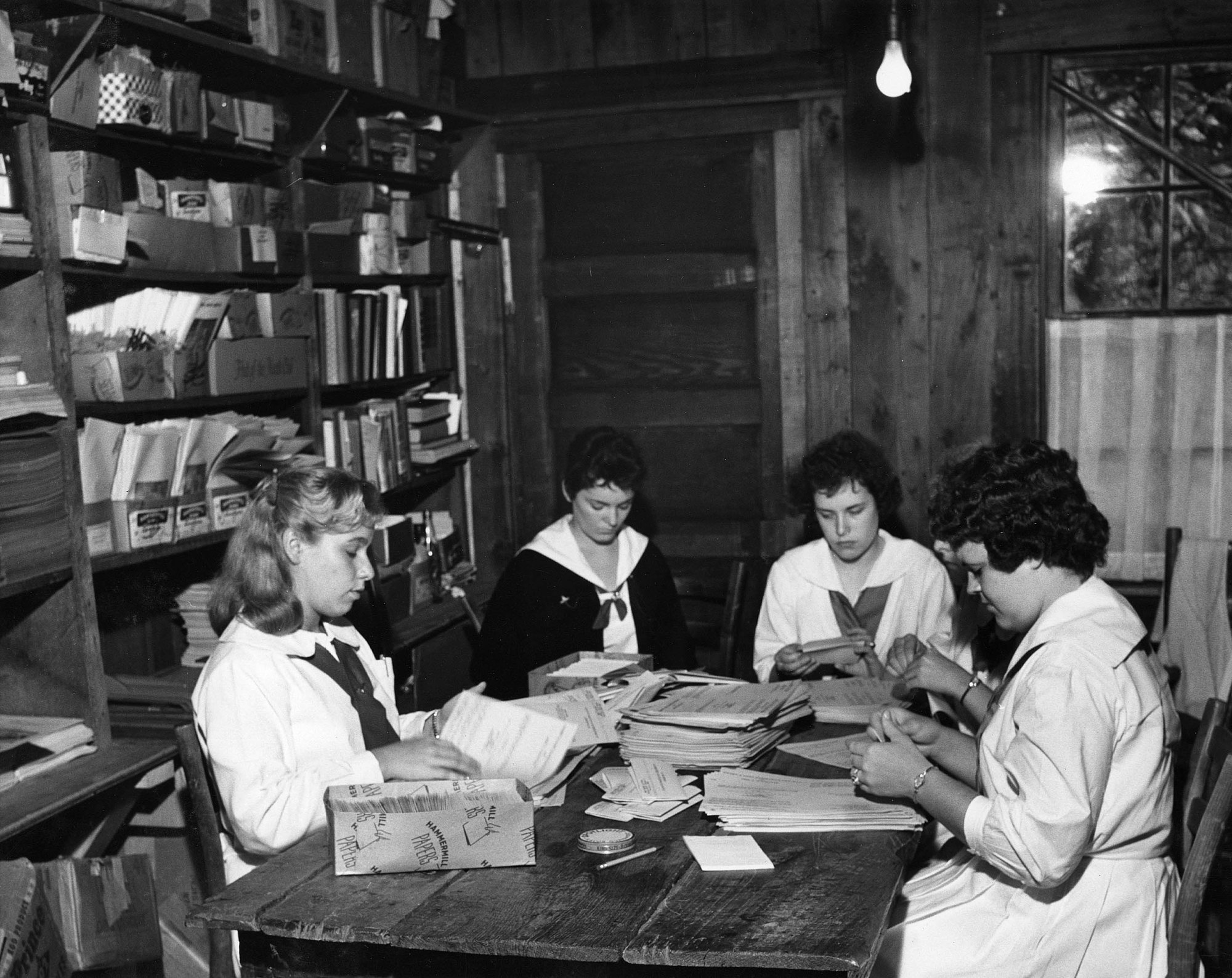 Students at Alice Lloyd College, Kentucky