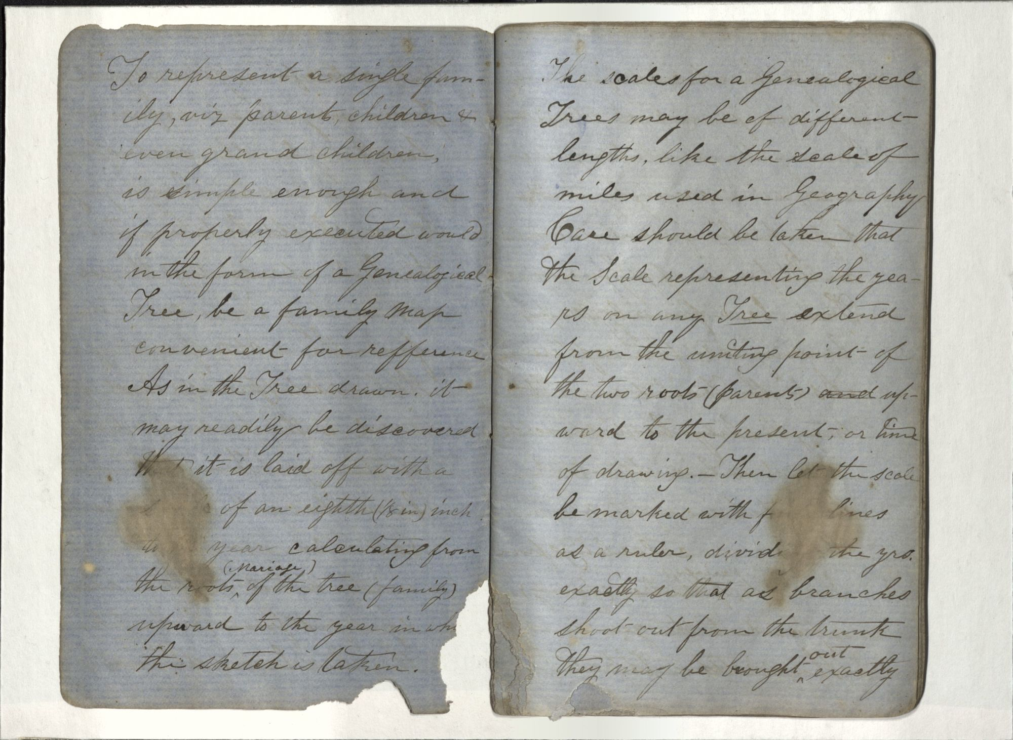 Blue Journal, John Henning Woods, 1864 (Ms2017-030)
