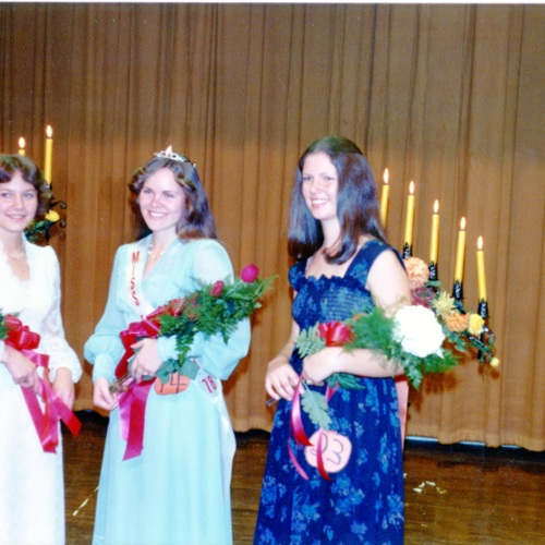 Miss Fries High School Beauty Pageant, 1978 (Ms1989-039)