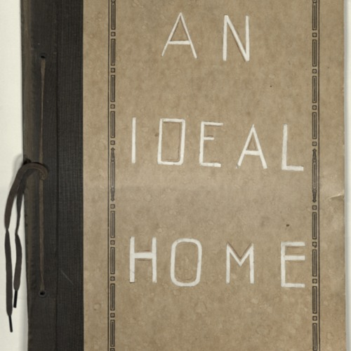 An Ideal Home Illustrated Scrapbook (Ms2013-026)