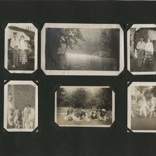 Selected pages from the Mary Josephine Hartwick Scrapbook