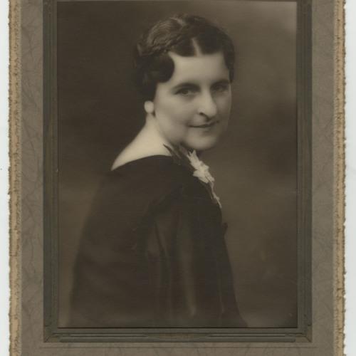 Portrait, Cynthia Addington Boatwright, Big Stone Gap, VA, c. 1940s/1950s, (Ms1990-070)