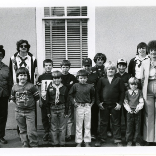 Cub Pack #88 Visit to [FTCO] on Nov. 7, 1980 (Ms1989-039)