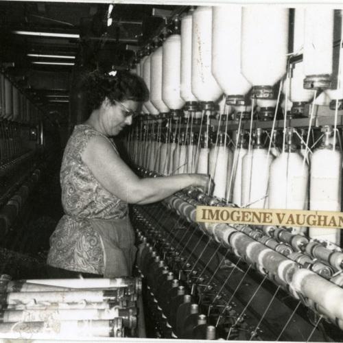 Imogene Vaughan Monitoring Bobbins (Ms1989-039)