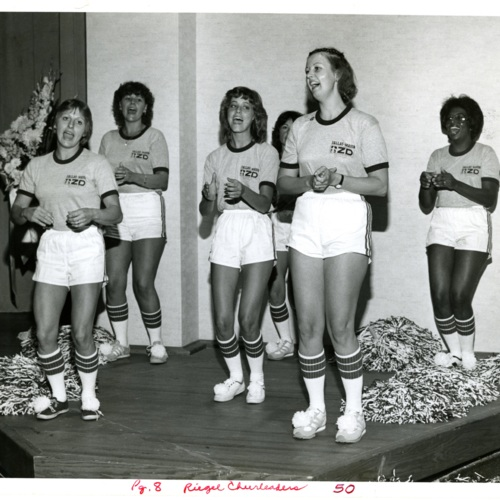 The Riegel Cheerleaders (Ms1989-039)