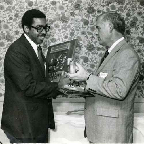 An Employee Gets an Award (Ms1989-039)