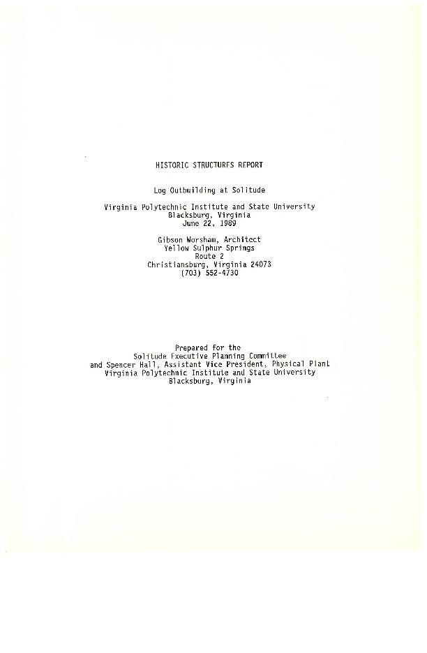 Solitude_LogOutbldgReport_1989.pdf