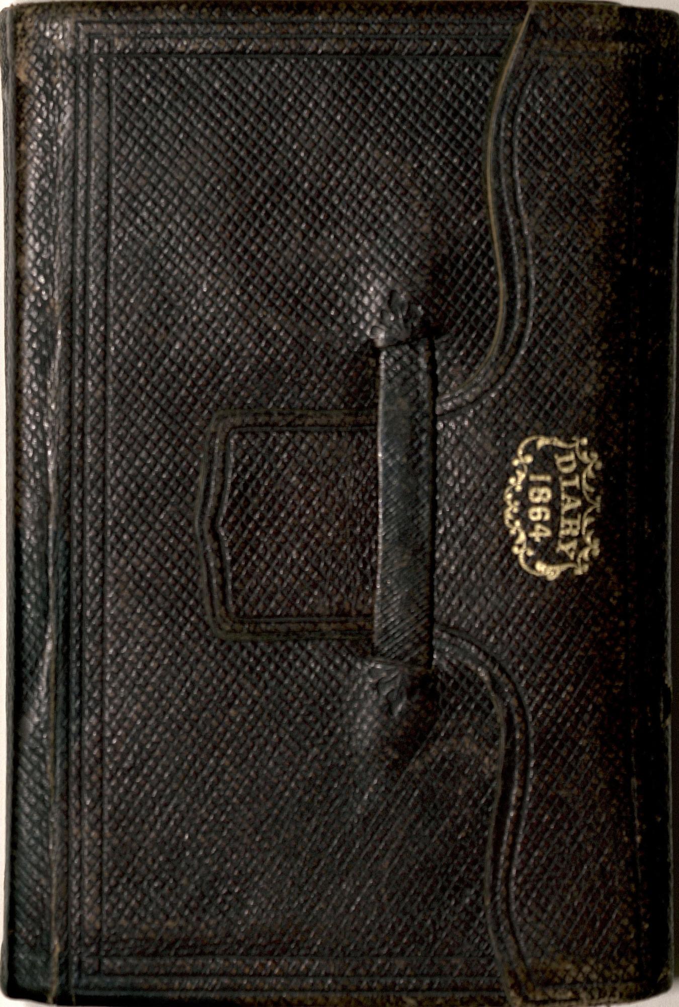 Ms2008-044_MayburyJohnR_Diary_1864_frontcover.jpg