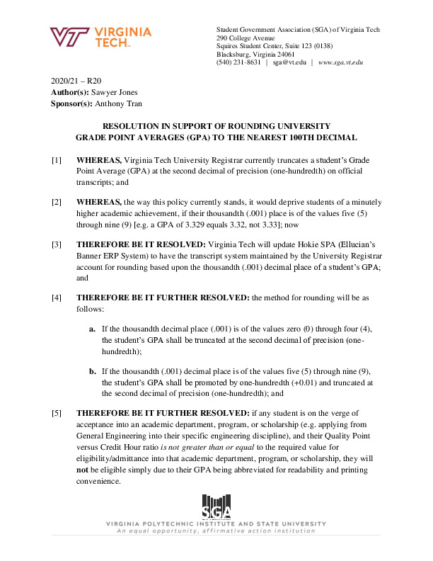 R20_ResolutioninSupportofRoundingUniversityGradePointAverage(GPA)totheNearest100thDecimal.pdf